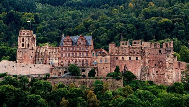Einsaat am Schloss Heidelberg